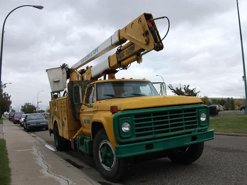 Bucket Truck Ford