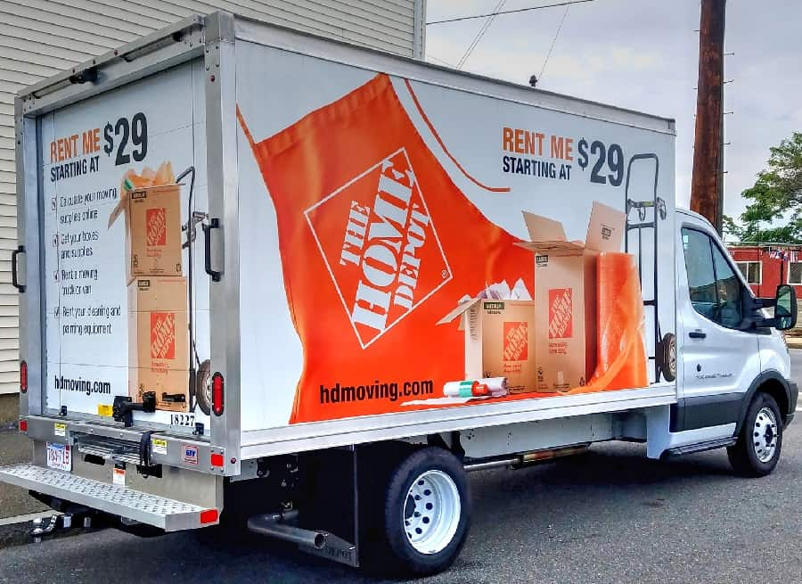 Rates for Home Depot Rent for Trucks