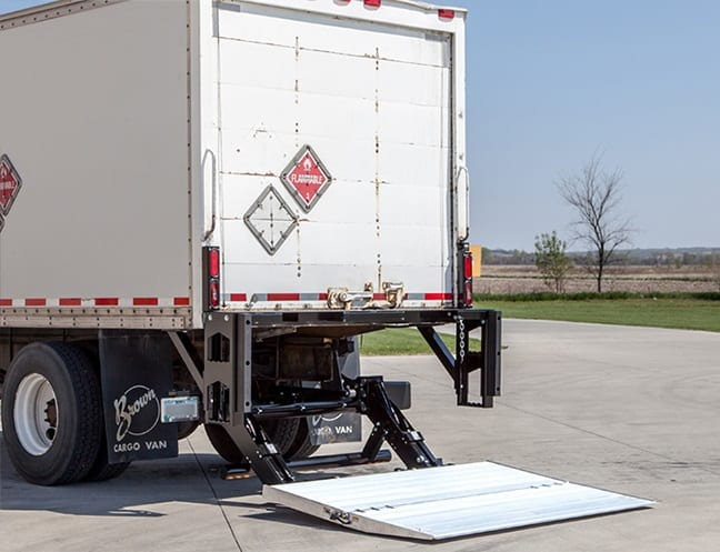 Lift Gate Trucking