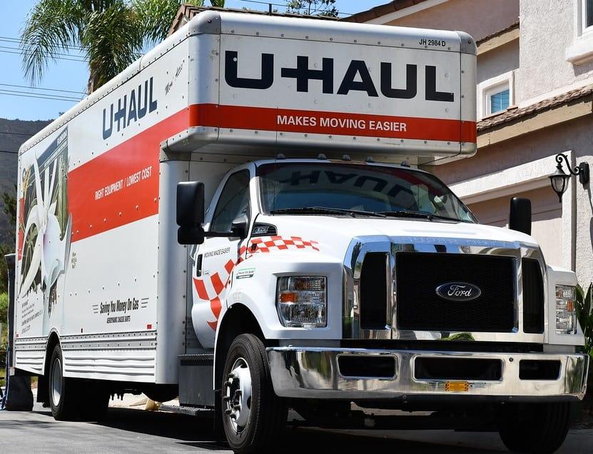 U-Haul Rental Truck