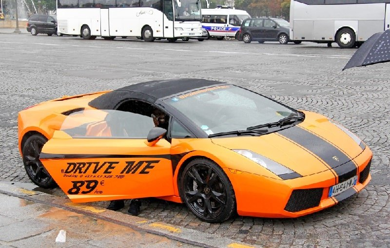 Super car rental
