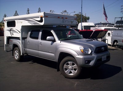 What size camper fits a short bed truck?