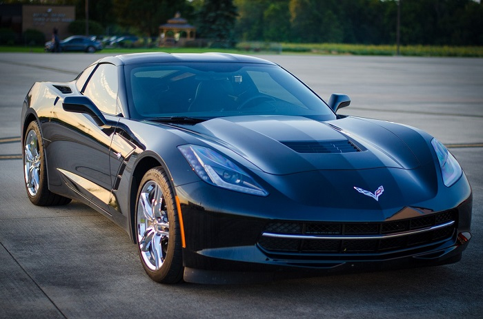How much does it cost to rent a Corvette for a day?