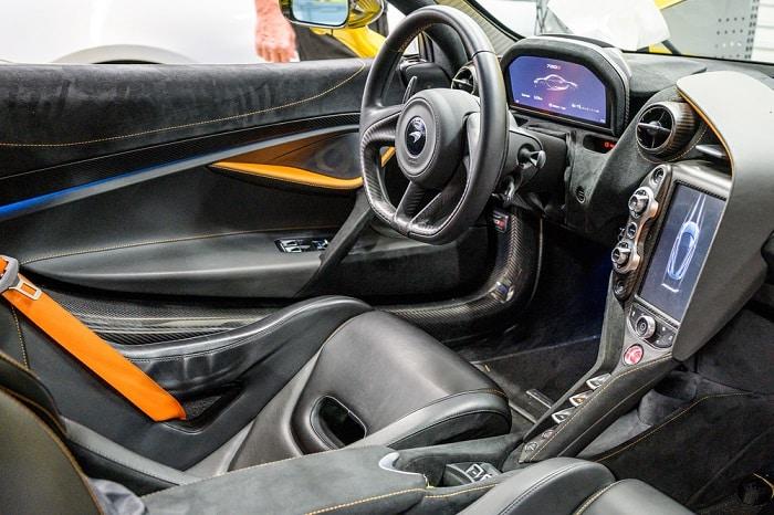 Which Mclaren model compares with Lamborghini cars?