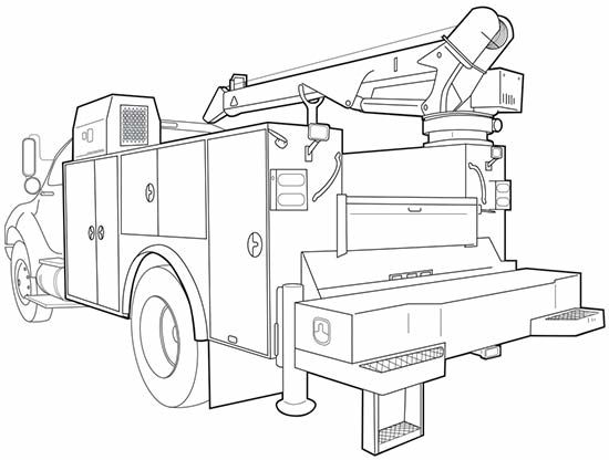 How much is mechanics truck with crane?